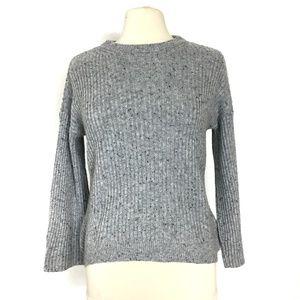 MICHAEL KORS Wool Blend Bell Sleeve Sweater